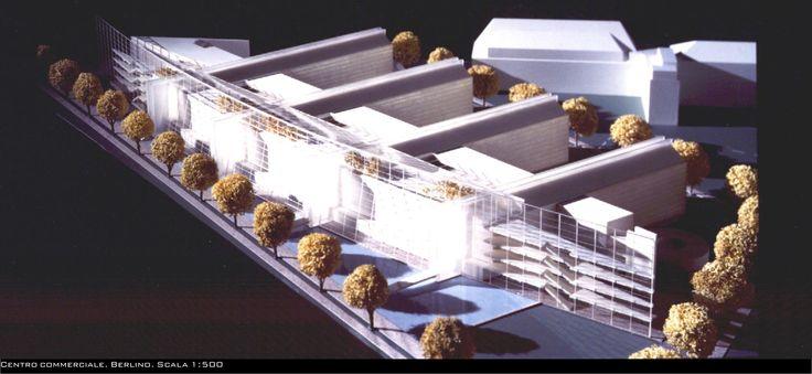 Concorso per la realizzazione di un Centro commerciale a Berlino. - Aleph