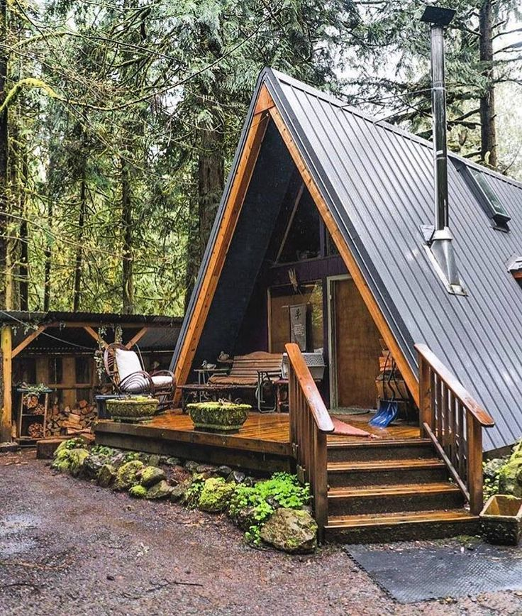 A Frame Building A Tiny House Small Log Cabin Log Cabin Homes