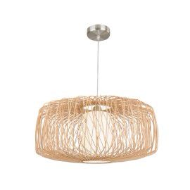 Pendant light for front Living Room - Florida 580mm in Natural from Beacon Lighting