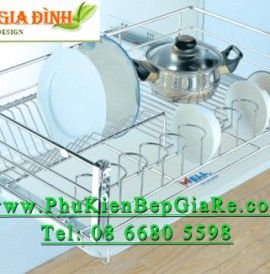 Phụ kiện bếp giá rẻ – Khay Úp Chén Đĩa K6(S)PTJ008V