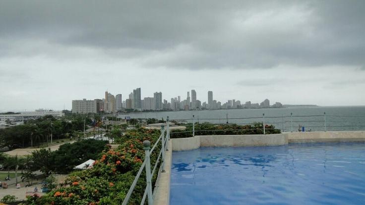 Vista desde Hotel Santa Clara -Cartagena - Colombia