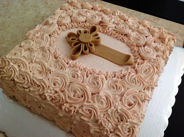 Pastel bautizo | Mi trabajo en la cocina | Pinterest