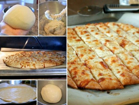 Cheesy Garlic Breadstick Recipe From Scratch | The WHOot