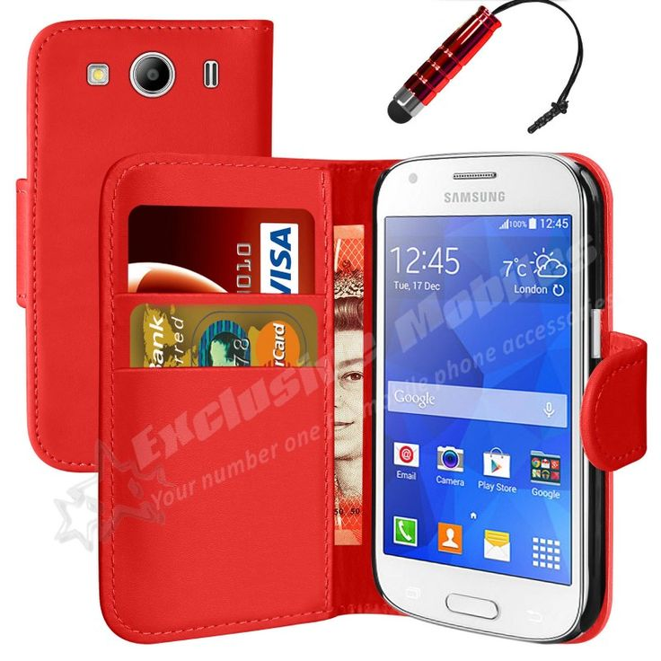 UUsi New Flip Book Wallet Leather Case Cover For Samsung Galaxy Ace 4 SM-G357FZ Phone
