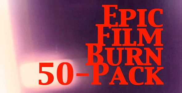 Epic Film Burn 50-Pack  $10.00