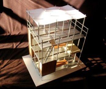 """Progetto di un habitat  nomade per nuovi  stili di vita urbani"""""""
