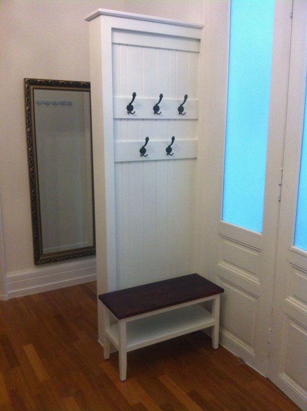 Garderobe im Landhausstil | www.3d-ideen.de