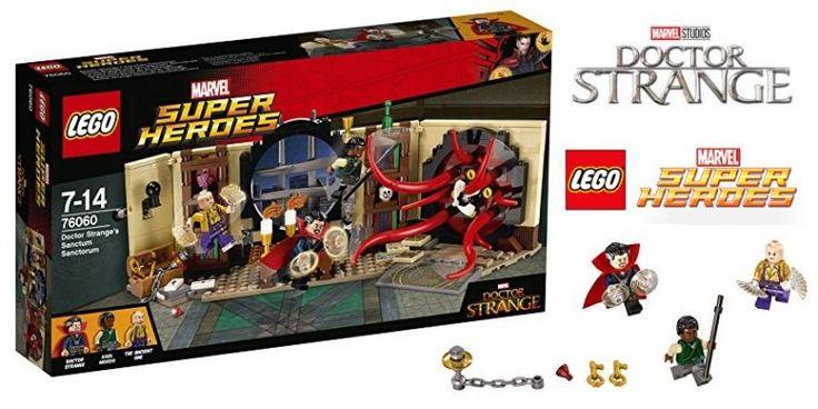 ¡Chollo! Lego Super Heroes Doctor Strange Sanctum Sanctorum por 18.50 euros. Mitad de precio.