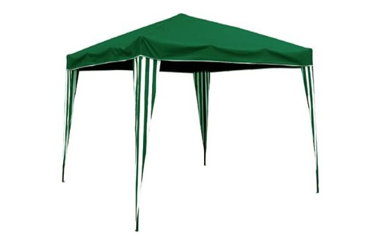 Gazebo plegable de Majestic Garden, en color verde.