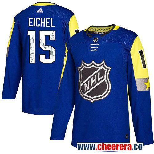 online store 3479e 7229c 15 Jack Eichel Royal Blue Adidas NHL Men's Jersey Buffalo ...