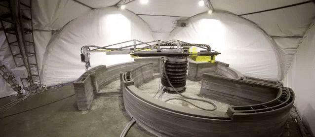 A empresa russa Apis Cor construiu uma casa inteira dentro de apenas 24 horas. Como? Usando impressão 3D