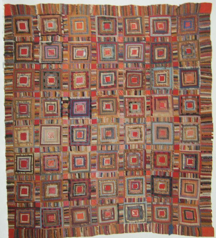 1800s Log Cabin Jpg 1018 215 1122 Quilts Pinterest
