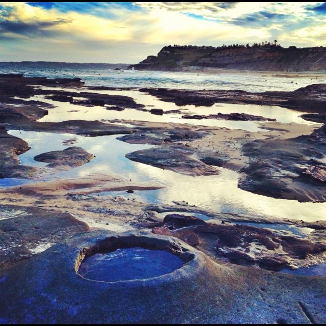 Rock pools Newcastle J Foster