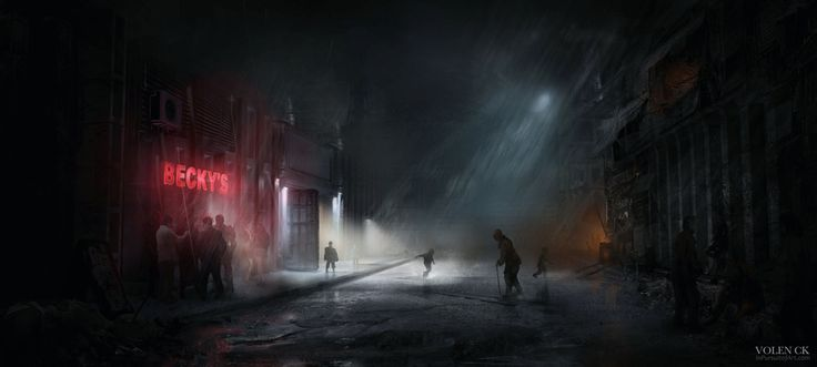 Fallout 2 - The Den - Redesign by InPursuitOfArt | Sci-Fi | 2D | CGSociety
