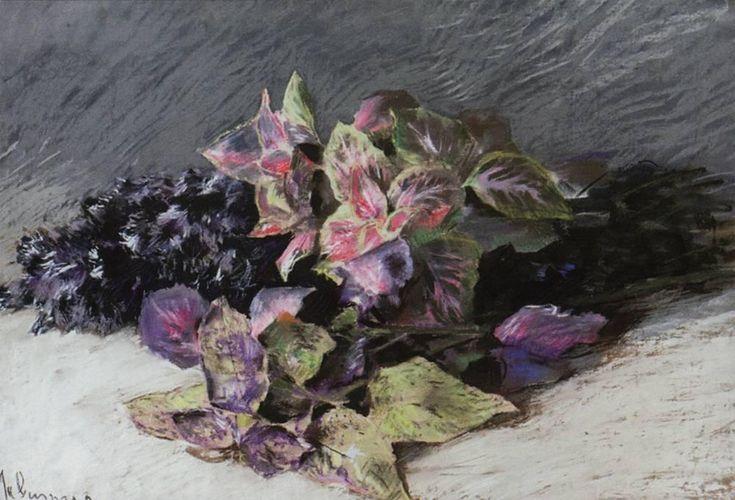 Isaac Levitan - Coleus (1894)