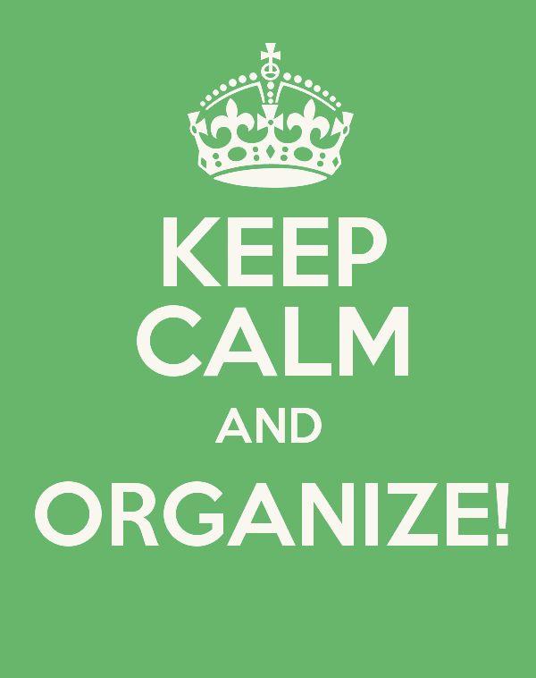 Organize sem Frescuras | Rafaela Oliveira » Arquivos » Como manter a casa organizada