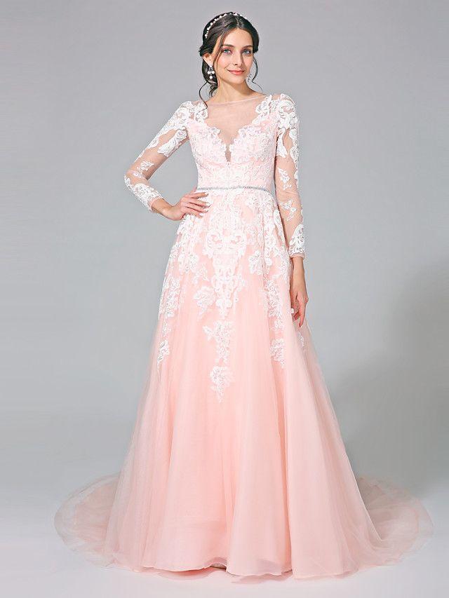 Lanting Bride® Trapèze Robe de Mariage  - Classique
