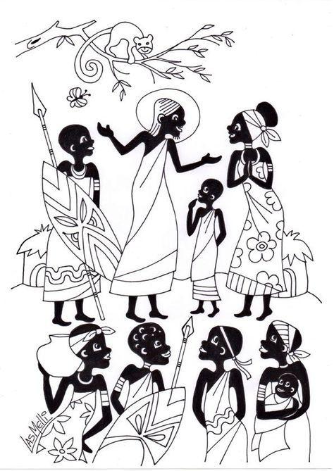 Mejores 21 imágenes de afro mulheres en Pinterest | Arte africano ...