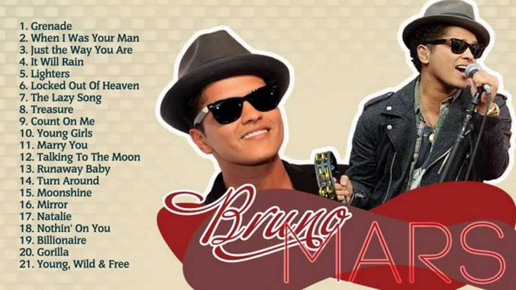 Best Songs Of Bruno Mars l Bruno Mars's Greatest Hits