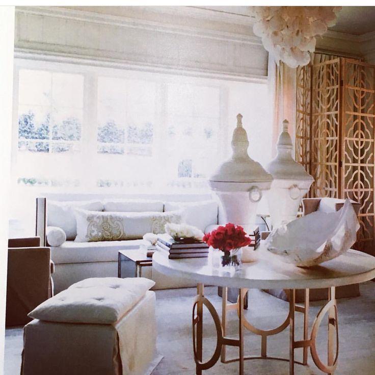 BRADLEY USA Melanie Turner Interiors Bradley Chanelle Table And Marie Ottoman Bradleyusa