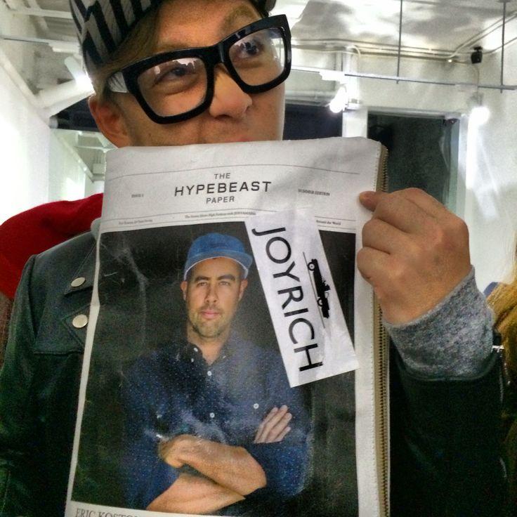 Tokyo fashion industry insider Yoshio Yokobori at the Joyrich Hong Kong store opening ...