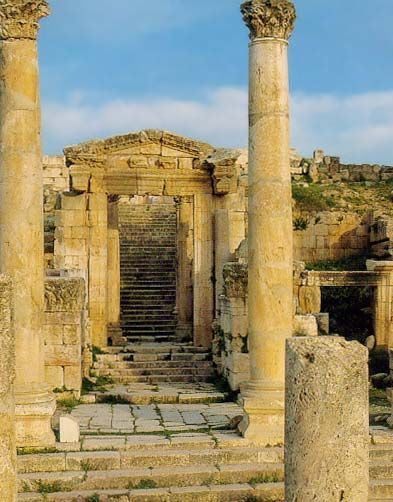 The Cathedral, Jerash, Jordan