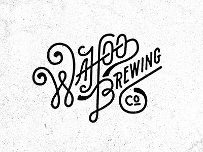 I Love Ligatures / Wahoo Brewing Co. 01 by Pavlov Visuals