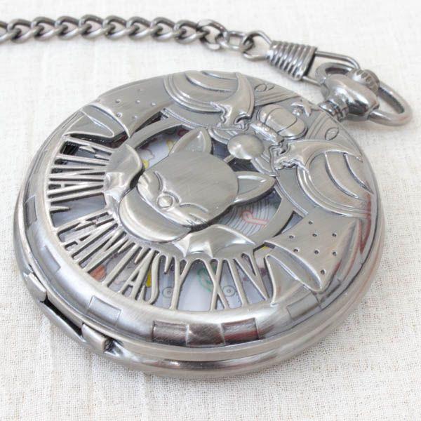 ファイナルファンタジー XIV モーグリ 懐中時計 シルバーver.