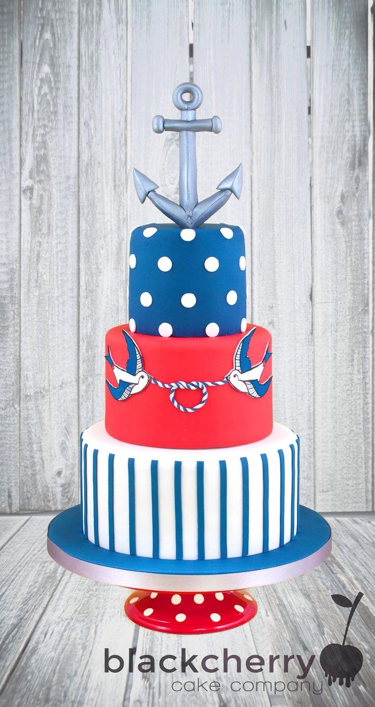 Sailor pin up cake