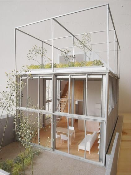 nice material palette on the model, and a very nice design from Fuminori Nousaku Architects