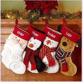 unusual christmas stockings - Google Search