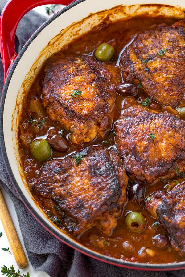 Braised Chicken Thighs The Cozy Apron Recipe Braised Chicken Thighs Recipes Chicken Thigh Recipes