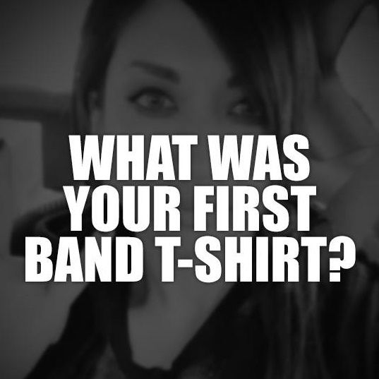 1st band t-shirt