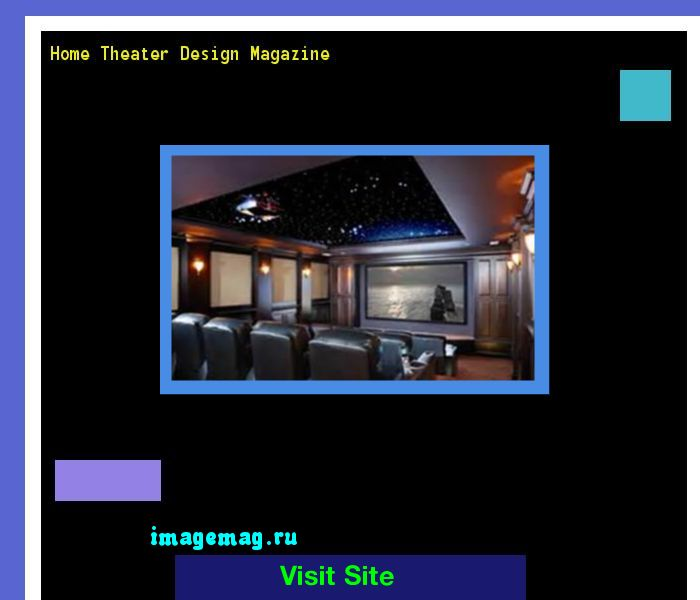 Home Theater Design Magazine 214607 - The Best Image Search
