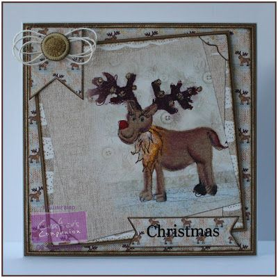 Pauline Bird, Romany Christmas CD, Card Companion 2 #crafterscompanion #Christmas