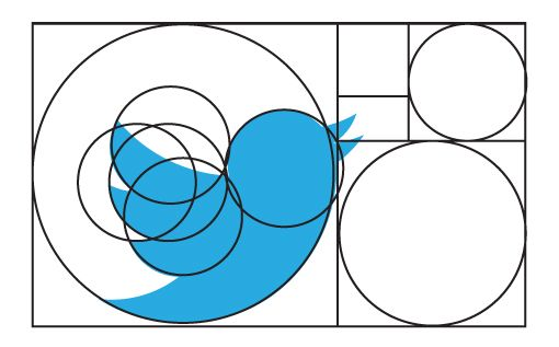 Twitter's New Logo: The Geometry and Evolution of Our Favorite Bird | Design Shack