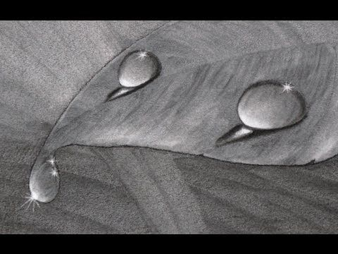 ★ HOW TO Draw a Water Drop | Drawing Tutorial & Video Demos ★
