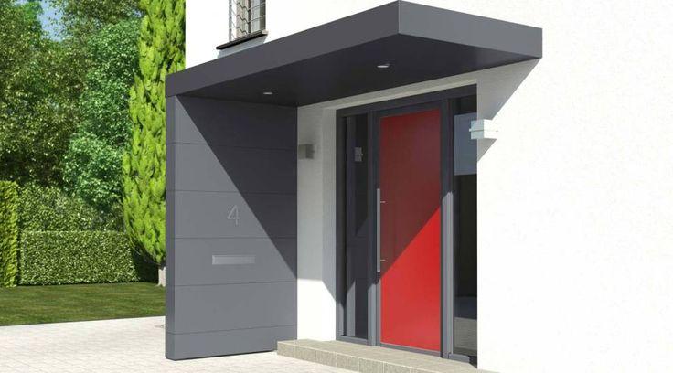 Die Design-Eingangsüberdachung von Siebau - Siebau Raumsysteme - bauemotion.de