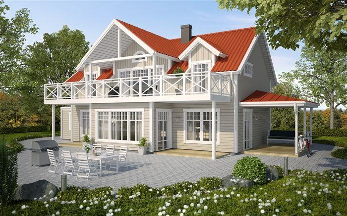 romantische Villa
