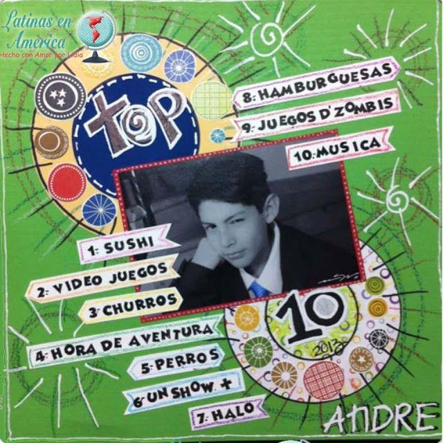 Latinas en America: Reto # 66 Mi TOP 10 - Challenge # 66 My TOP 10