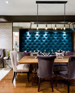 Candice Tells All - TV Series, HGTV, W Network contemporary dining room