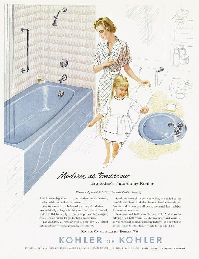 92 best CURIOSITY   Bathroom Vintage Ads images on Pinterest ...