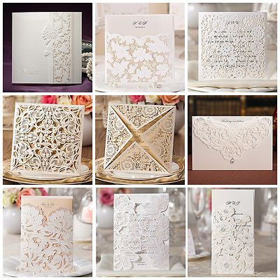 Laser Cut out Wedding Invitation Cards Birthday Cards Greeting Cards Invitations