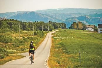 What about a bike ride through Magma Geopark? This is #funinregionstavanger! #Norway #fjordnorway #regionstavanger