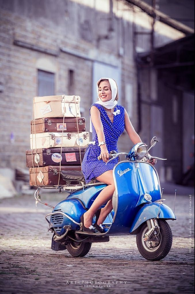 Travel vespa