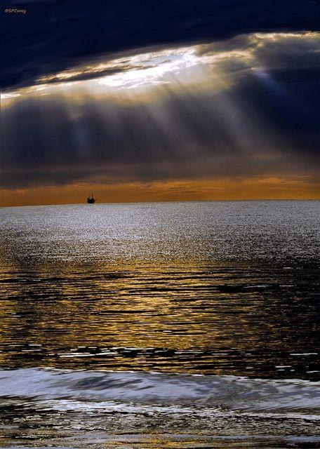 touchstones-central:  I~Will~Show~You~The~Mystery~2oceanflower2015:Santa Barbara Sunrise by Steve Corey