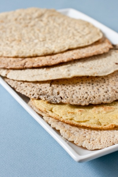 One pinner wrote: 5-ish-minute pan bread. I tried this using almond flour