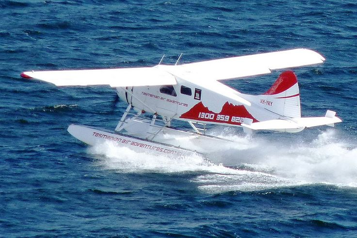 Tasmanian Air Adventures Float Plane in Hobart Australia
