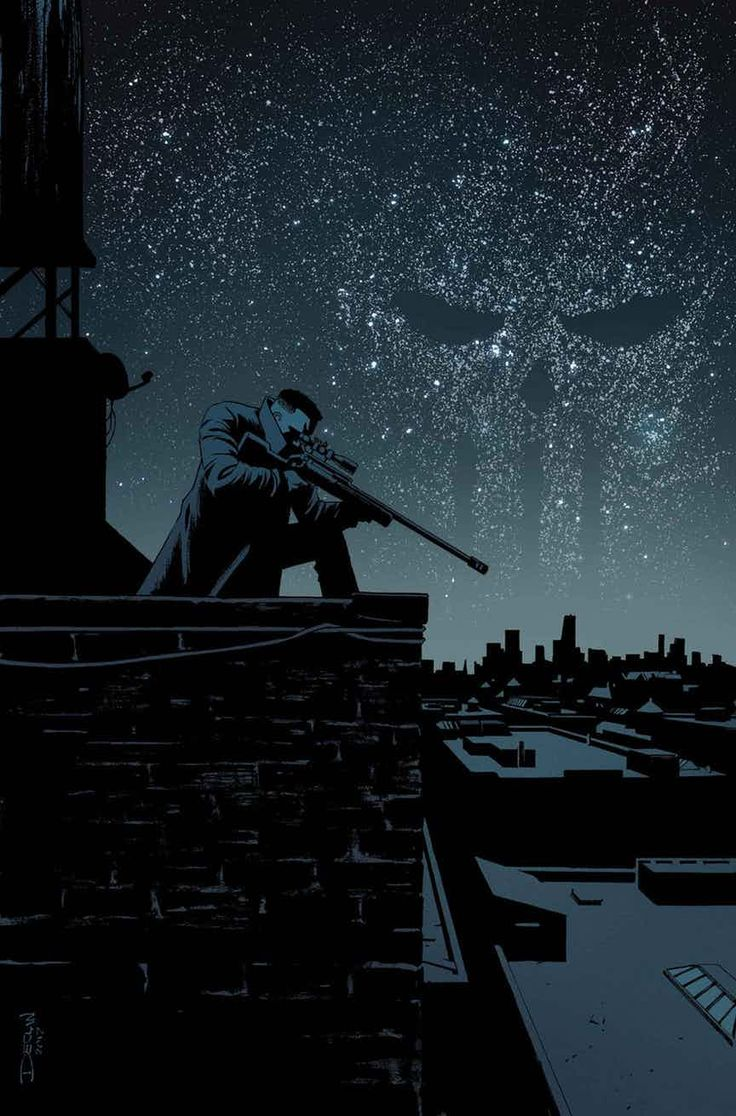 "The Punisher #14 by Declan Shalvey "" THE PUNISHER #14 BECKY CLOONAN (W) • MATT HORAK (A) Cover by DECLAN SHALVEY X-MEN TRADING CARD VARIANT COVER BY JIM LEE LIGHTS OUT! A blackout hits New York..."
