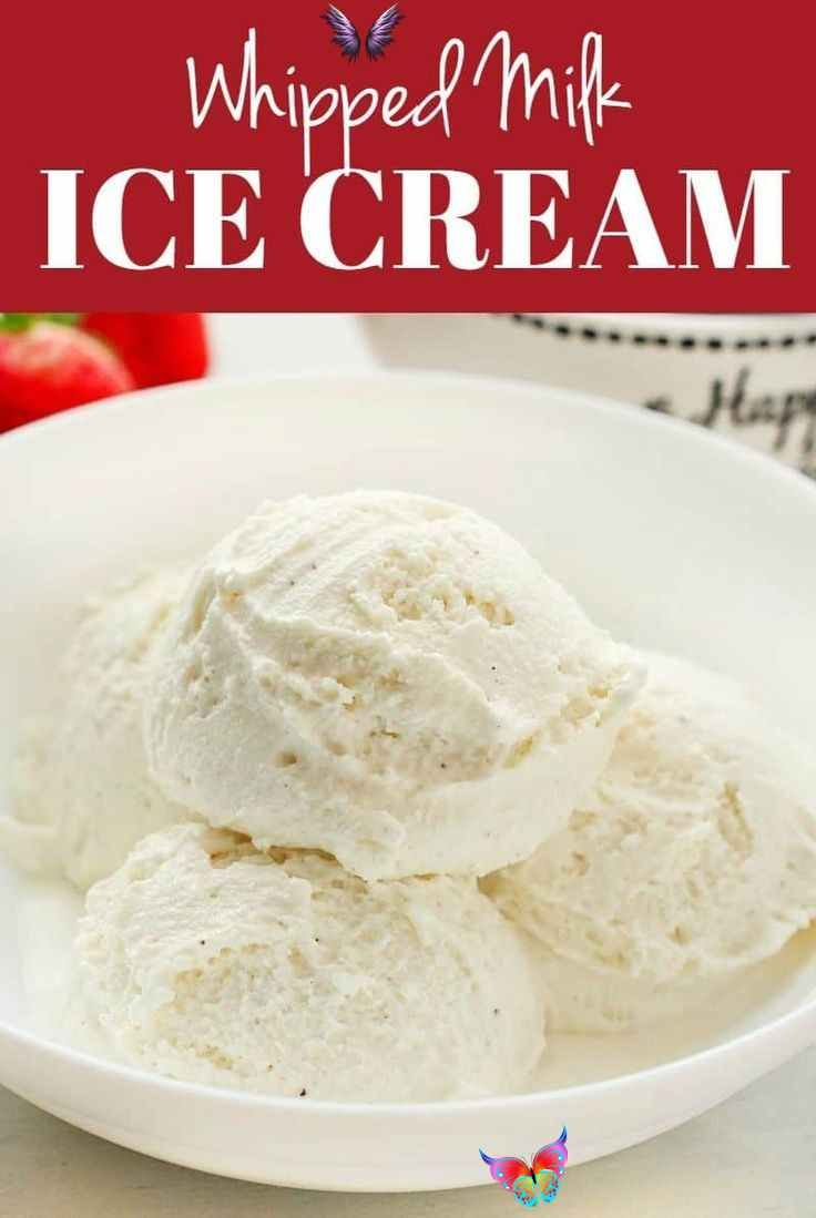Whipped Milk Ice Cream No Machine Evaporated Milk Whipped Milk Ice Cream No Machine Needed T In 2020 Easy Ice Cream Recipe Milk Ice Cream Ice Cream Recipes Machine